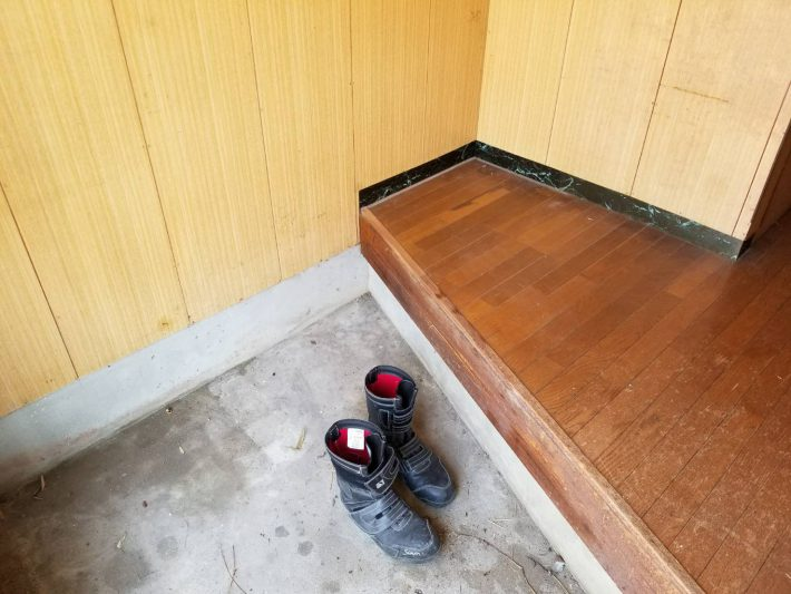粗大ゴミ片付け_岡山市北区石関町_作業後の玄関