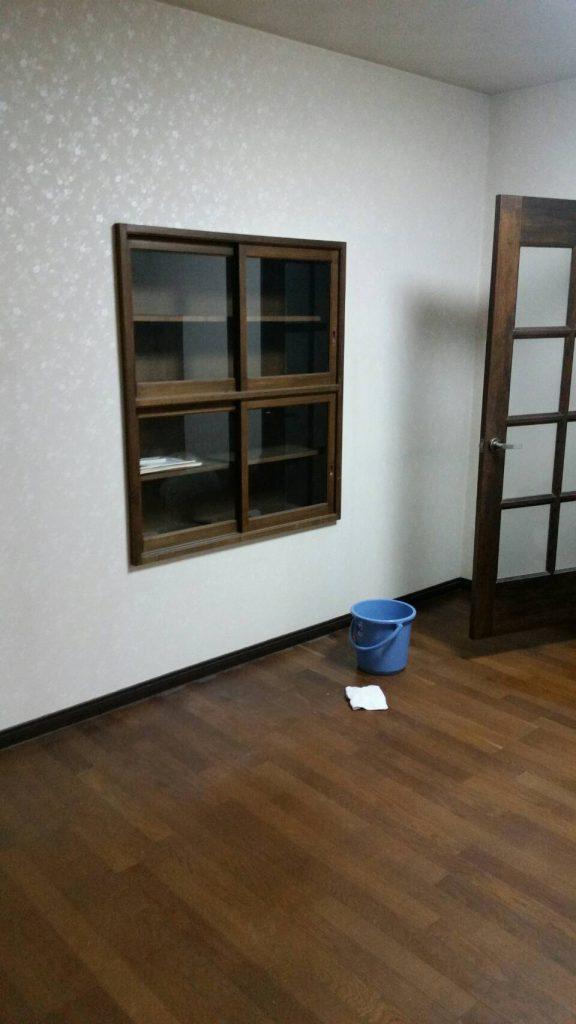 粗大ゴミ片付け_岡山市北区丸の内一丁目_作業後のダイニング