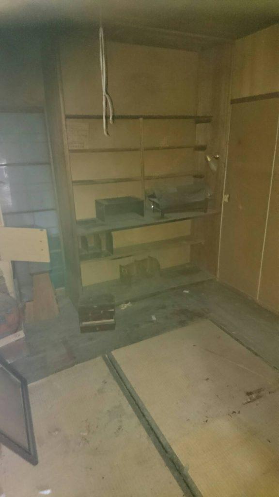 岡山市北区横尾_室内の粗大ゴミを回収した後