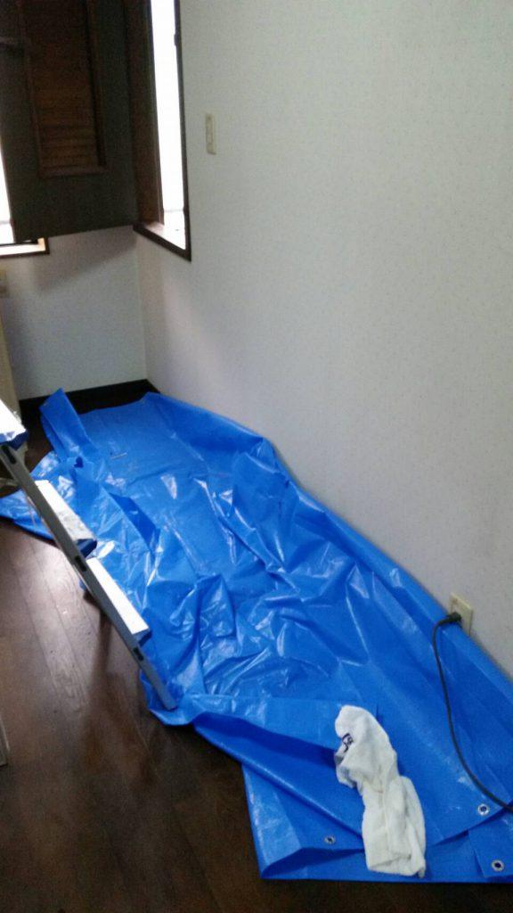 粗大ゴミ片付け_岡山市北区丸の内一丁目_作業後の寝室