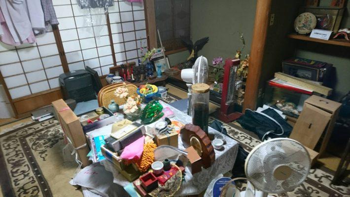 粗大ゴミ片付け_岡山市北区津島_床の間1