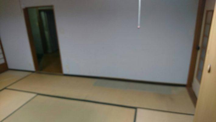 粗大ゴミ片付け_岡山市北区玉柏_1階和室片付け後