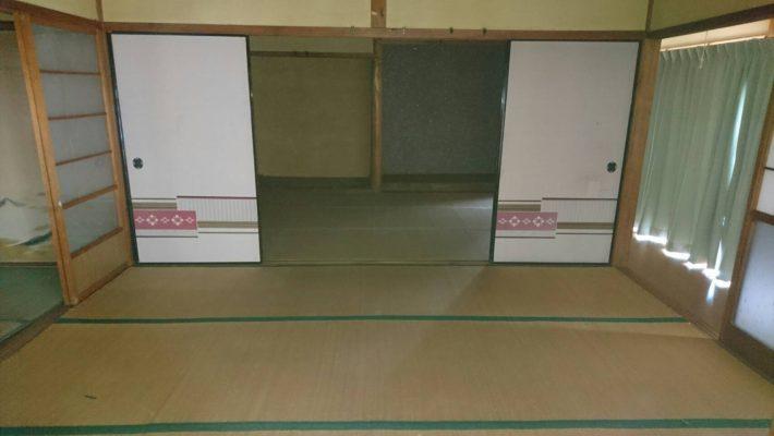 粗大ゴミ片付け_岡山市北区芳賀_作業後の和室